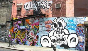 graffiti murals in downtown new york city
