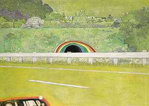 peter doigs country rock mural