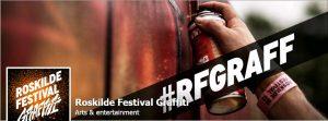 roskilde festival graffiti image