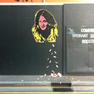 chew barrymore chewing gum artwork by hyde & seek