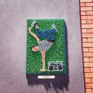 hyde & seek street artists toy soldier piece
