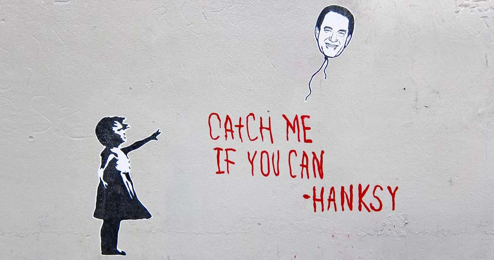 hanksy catch me if you can