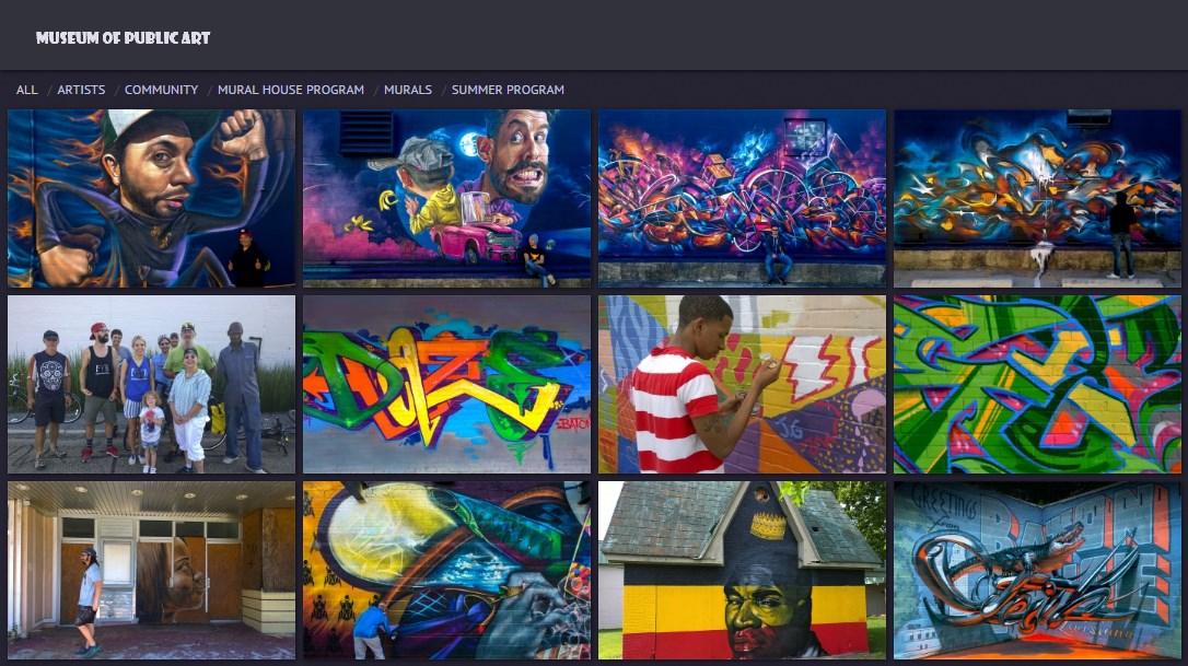 museum of public art website