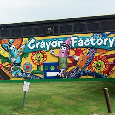 crayola factory large scale exterior mural thumb