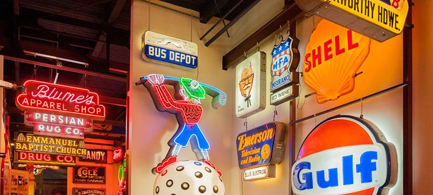 american sign museum interior