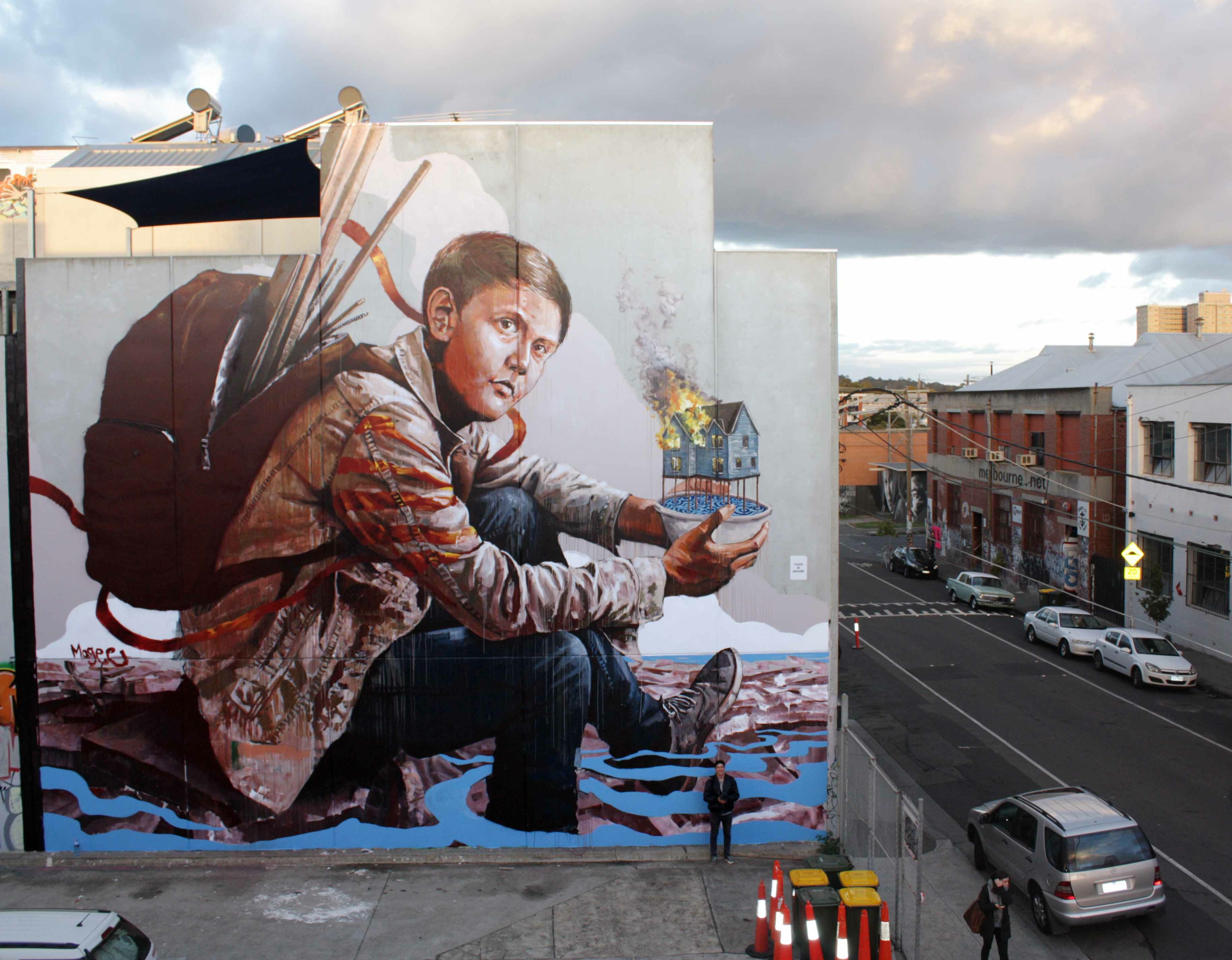 fintan magee outdoor artwork