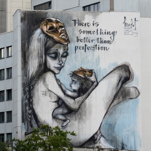 herakut artwork on building