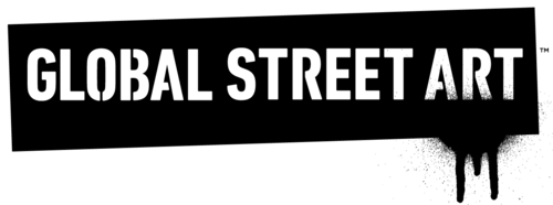 global street art logo