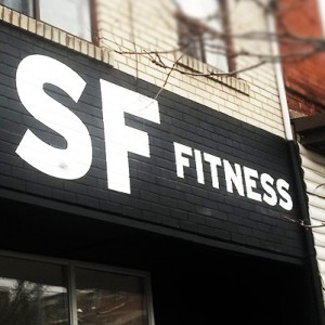 sf fitness hand painted storefront signage thumb