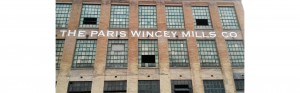 custom painted paris wincey mills sign