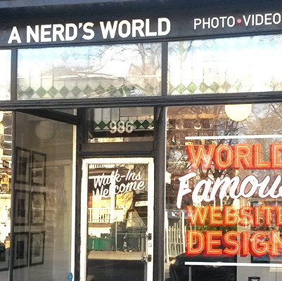 nerds world signage thumbnail