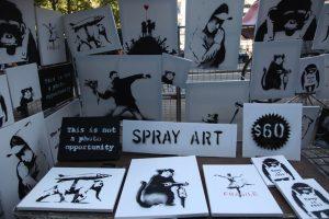 banksy secret artwork sale