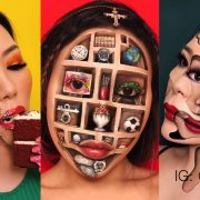 Mimi Choi Face Art Optical Illusion - Makeup Artistry